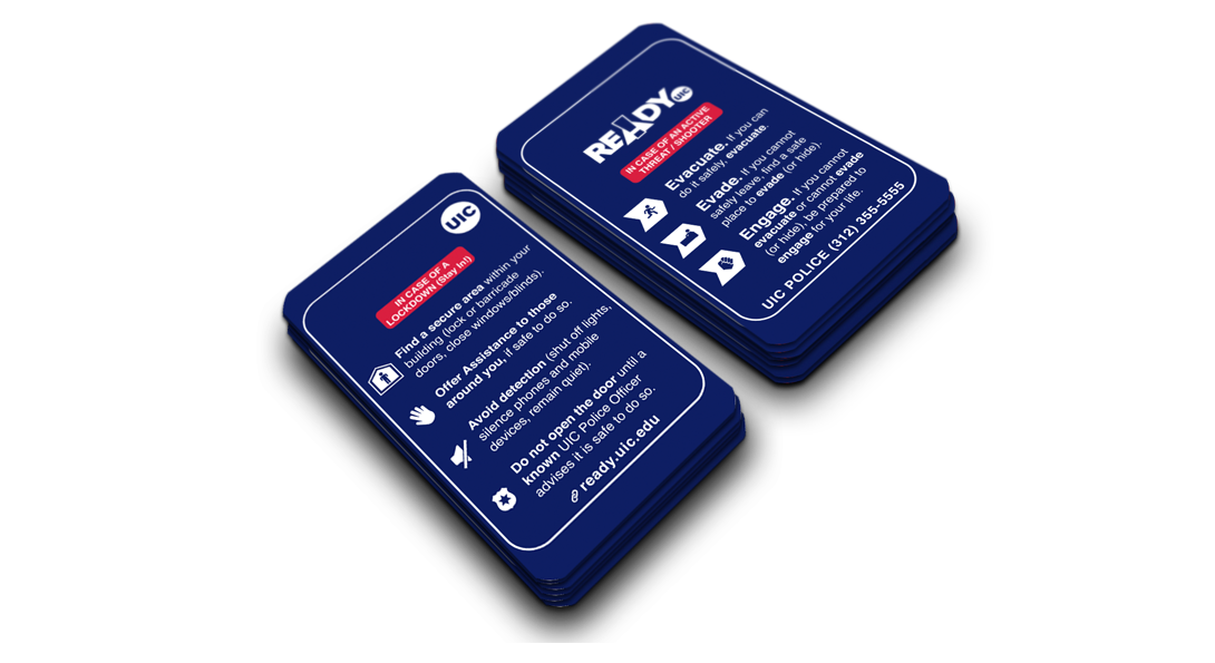 Active Threat Wallet Cards