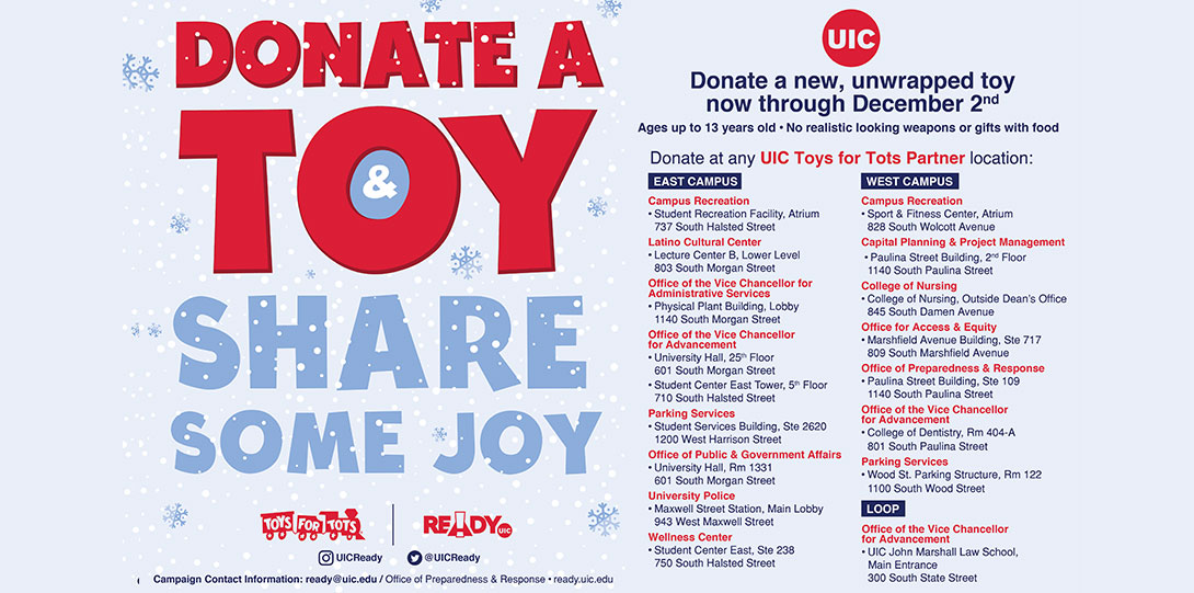 Donate a toy & Share some joy