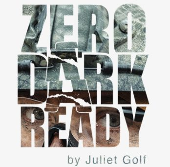 Blog Logo. Zero Dark Ready by Juliet Golf