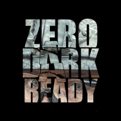 Zero Dark Ready logo. Decorative image